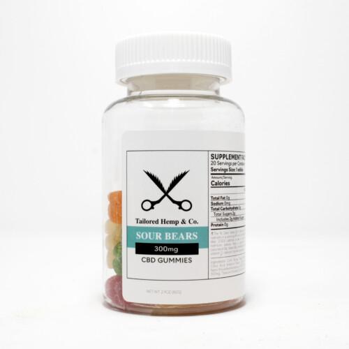 CBD Gummies 300mg Sour Bear