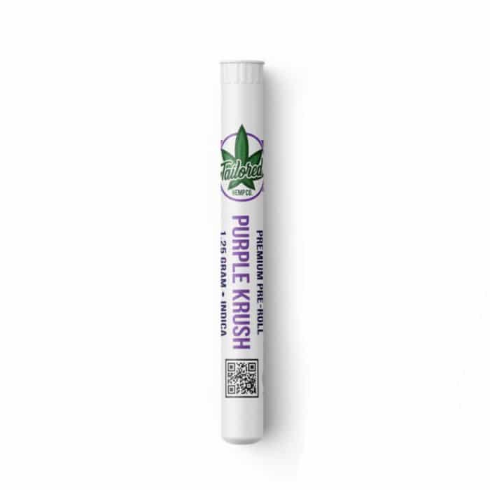 Top Shelf Hemp Flower Pre Roll - Purple Krush