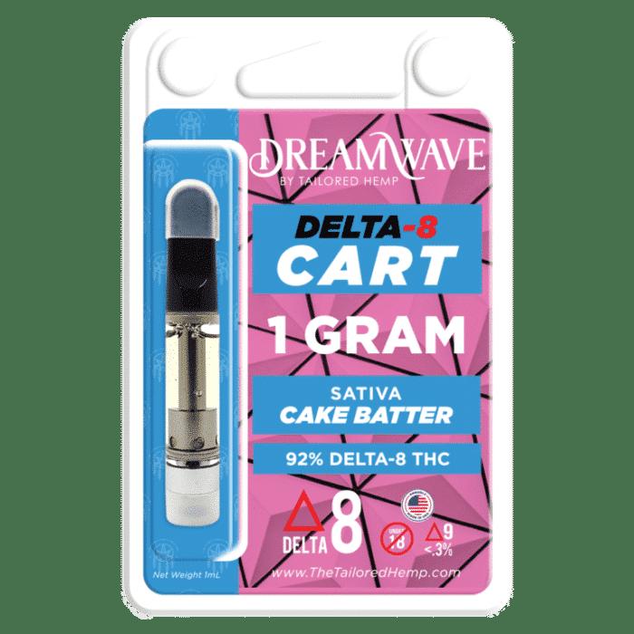 Delta 8 Vape Cartridge - Cake Batter